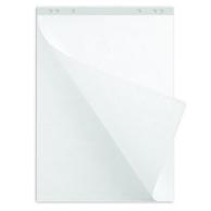 Блок белой бумаги для флипчарта
