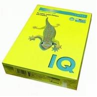 Бумага А4 IQ 80 г/м2, желтый неон