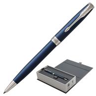 """Ручка шариковая """"Sonnet Subtle Blue Lacquer CT"""""""