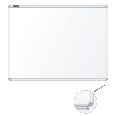 Доска белая маркерная Премиум 120х90 см