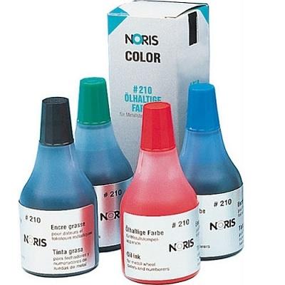 Краска Noris 210 чёрная 50 мл для металлических печатей