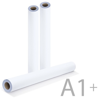 Бумага для плоттера 610 мм, 90 г/м2