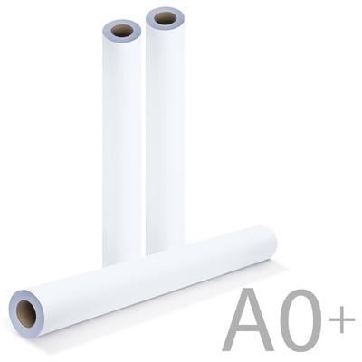 Бумага для плоттера 914 мм, 90 г/м2