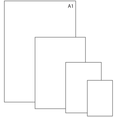 Ватман А1+ (620x900 мм), 1 лист