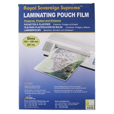 Пленка для ламинирования А3 200 мкм, упаковка 100 шт.