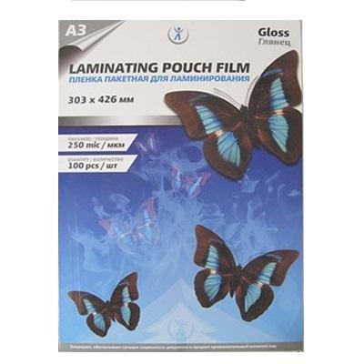 Пленка для ламинирования А3 250 мкм, упаковка 100 шт.
