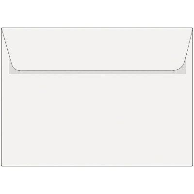Конверт А5 белый, отрывная лента
