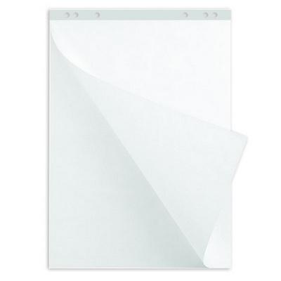 Блок чистой бумаги для флипчарта