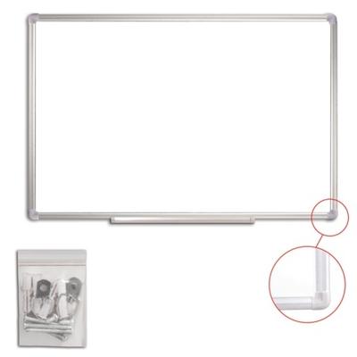 Доска белая маркерная 90х60 см