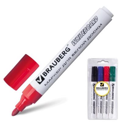 Набор маркеров для доски 4 цвета
