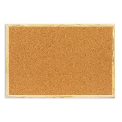 Пробковая доска 200х100 см, деревянная рамка