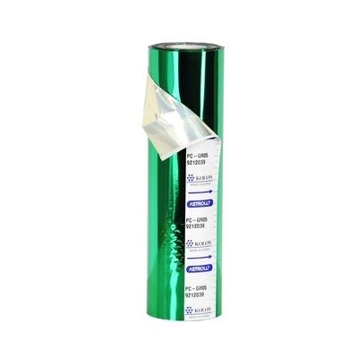 Фольга для ламинирования зеленая