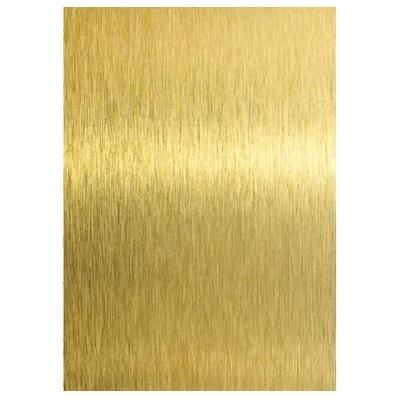 Сублимационный алюминий А4, матовое золото